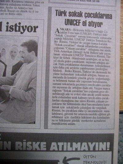 05 Mayıs 1998 Salı - Turkiye