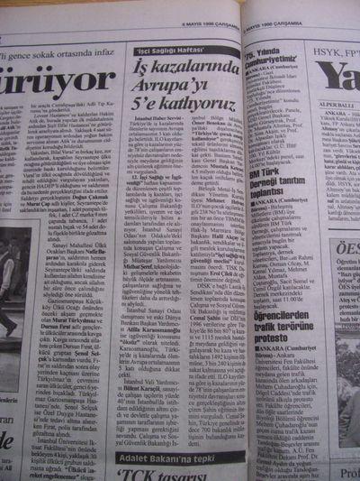 06 Mayıs 1998 Çarşamba - Cumhuriyet