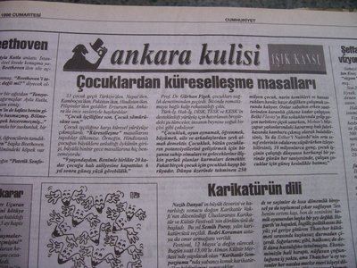 09 Mayıs 1998 Cumartesi - Cumhuriyet