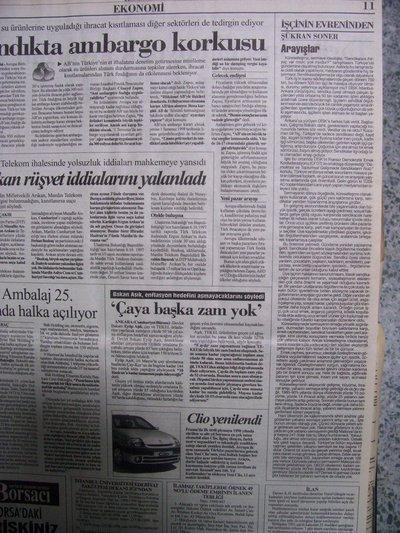 02 Haziran 1998 Salı - Cumhuriyet