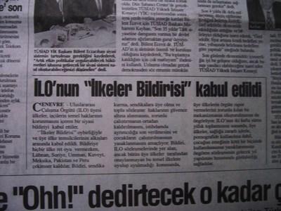 19 Haziran 1998 Cuma - Turkiye