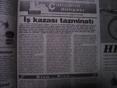 04 Temmuz 1998 Cumartesi - Turkiye
