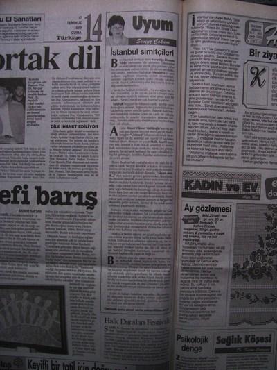 17 Temmuz 1998 Cuma - Turkiye