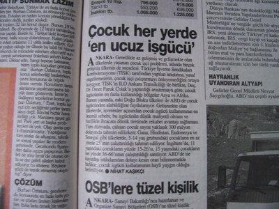 11 Ağustos 1998 Salı - Turkiye