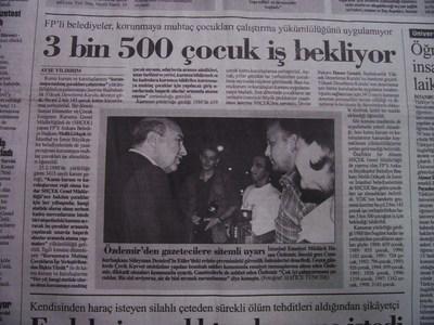 17 Ağustos 1998 Pazartesi - Cumhuriyet