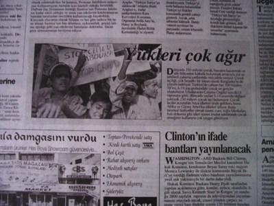 19 Eylül 1998 Cumartesi - Turkiye