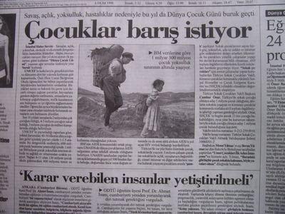 06 Ekim 1998 Salı - Cumhuriyet