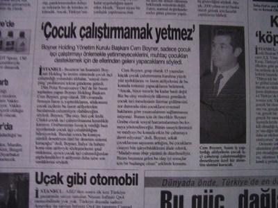 15 Ekim 1998 Perşembe - Turkiye