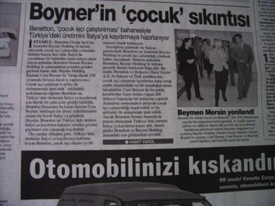 23 Ekim 1998 Cuma - Turkiye