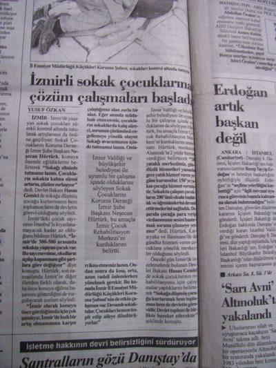05 Kasım 1998 Perşembe - Cumhuriyet