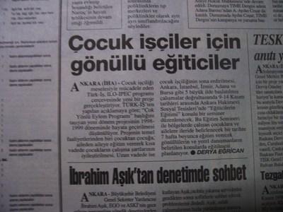 07 Kasım 1998 Cumartesi - Turkiye