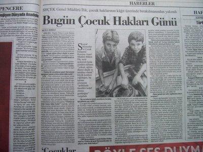 20 Kasım 1998 Cuma - Cumhuriyet