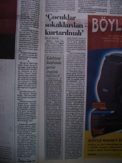 20 Kasım 1998 Cuma - Cumhuriyet2