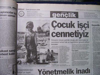 20 Kasım 1998 Cuma - Milliyet