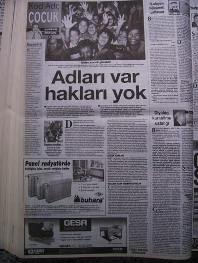 25 Kasım 1998 Çarşamba - Turkiye