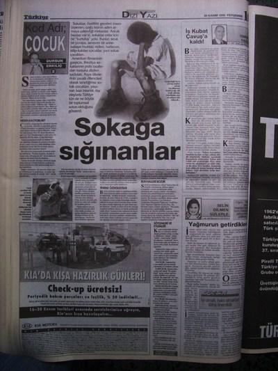 26 Kasım 1998 Perşembe - Turkiye
