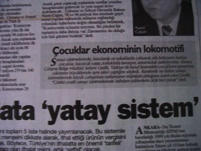 26 Aralık 1998 Cumartesi - Turkiye