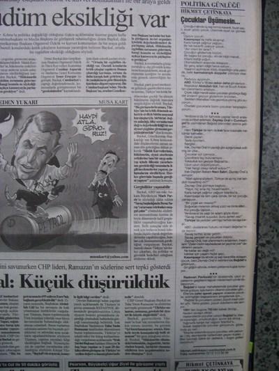 14 Ocak 2003 Salı - Cumhuriyet
