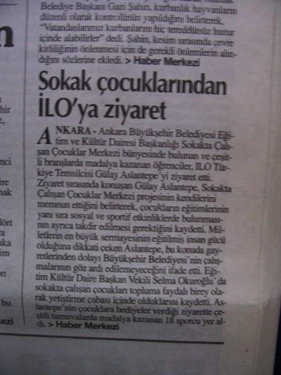 26 Ocak 2003 Pazar - Turkiye