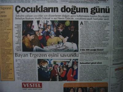 21 Nisan 2003 Pazartesi - Turkiye