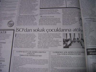 16 Mayıs 2003 Cuma - Hurriyet