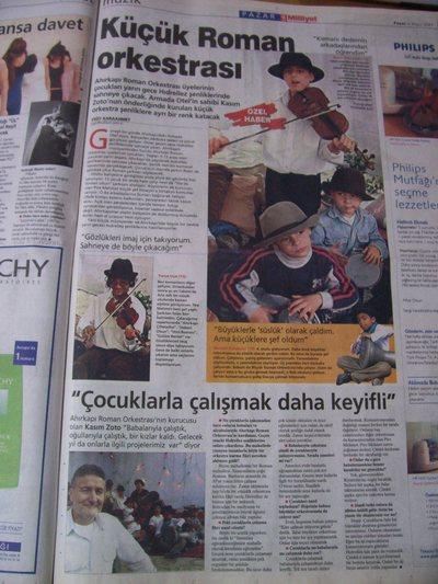 4 Mayıs 2003 Pazar - Milliyet