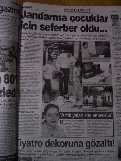 18 Haziran 2003 Çarşamba - Milliyet