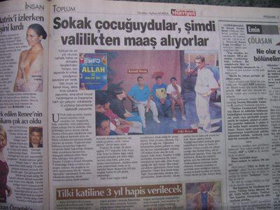 3 Temmuz 2003 Perşembe - Hurriyet