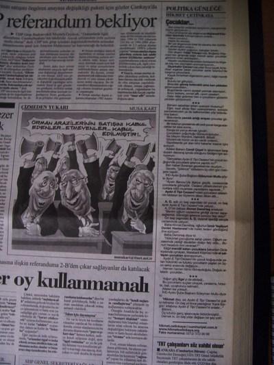 31 Temmuz 2003 Perşembe - Cumhuriyet