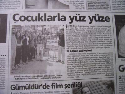 15 Ağustos 2003 Cuma - Turkiye