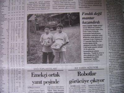 25 Ağustos 2003 Pazartesi - Cumhuriyet