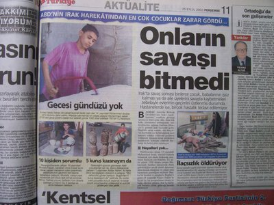 25 Eylül 2003 Perşembe - Turkiye