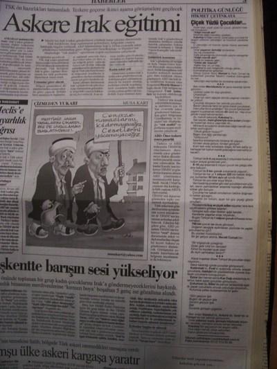 7 Ekim 2003 Salı - Cumhuriyet