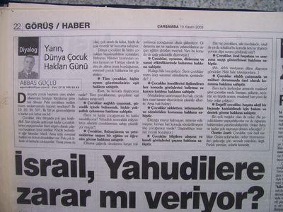 19 Kasım 2003 Çarşamba - Milliyet