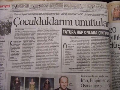 20 Kasım 2003 Perşembe - Cumhuriyet
