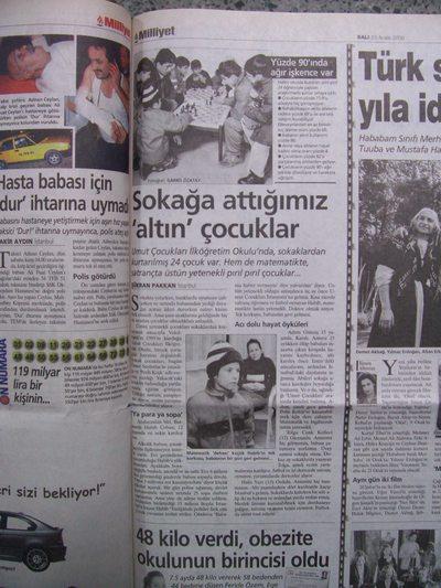 23 Aralık 2003 Salı - Milliyet