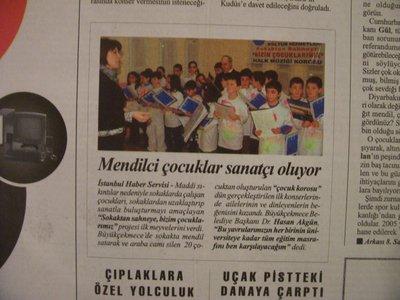 29 Ocak 2008 Salı - Cumhuriyet