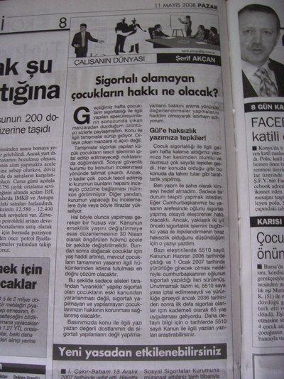 11 Mayıs 2008 Pazar - Turkiye