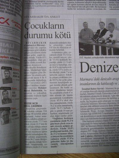 17 Haziran 2008 Salı - Cumhuriyet