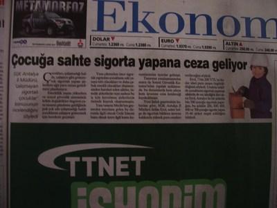 6 Temmuz 2008 Pazar - Milliyet