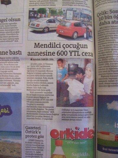 22 Ağustos 2008 Cuma - Hurriyet