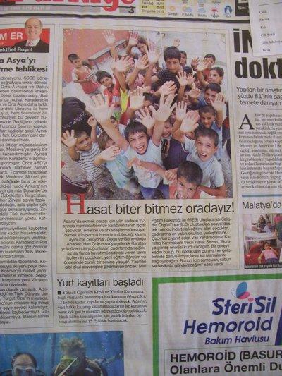 1 Eylül 2008 Pazartesi - Turkiye