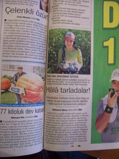 7 Ekim 2008 Salı - Turkiye